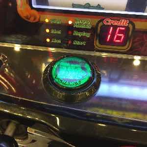 ハナハナでマックスボタン緑色点灯のアメイジングチャンスプレミア演出