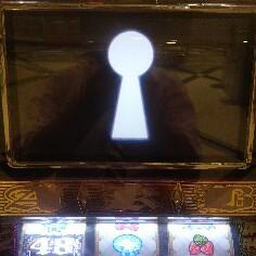 パチスロAKBで鍵穴フリーズ発生のプレミア演出画像