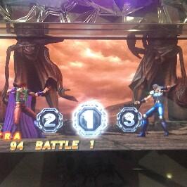 北斗の拳転生の章でユダとレイの激レアバトルのプレミア演出画像