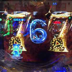 ガロ魔戒の花で激熱の七テンパイ画像