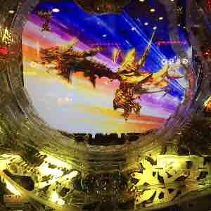 ガロ魔戒の花で光覚獣身変身のプレミア演出画像