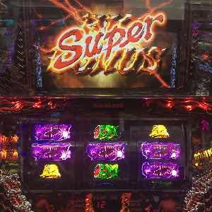 サイレントヒルでスーパービックボーナス獲得のプレミア演出画像