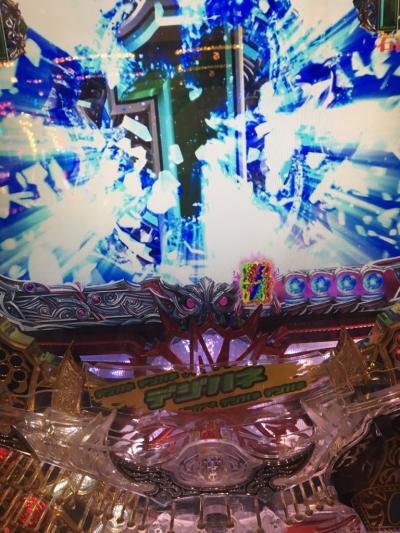 北斗の拳6天翔百裂でレインボー保留出現のプレミア演出画像